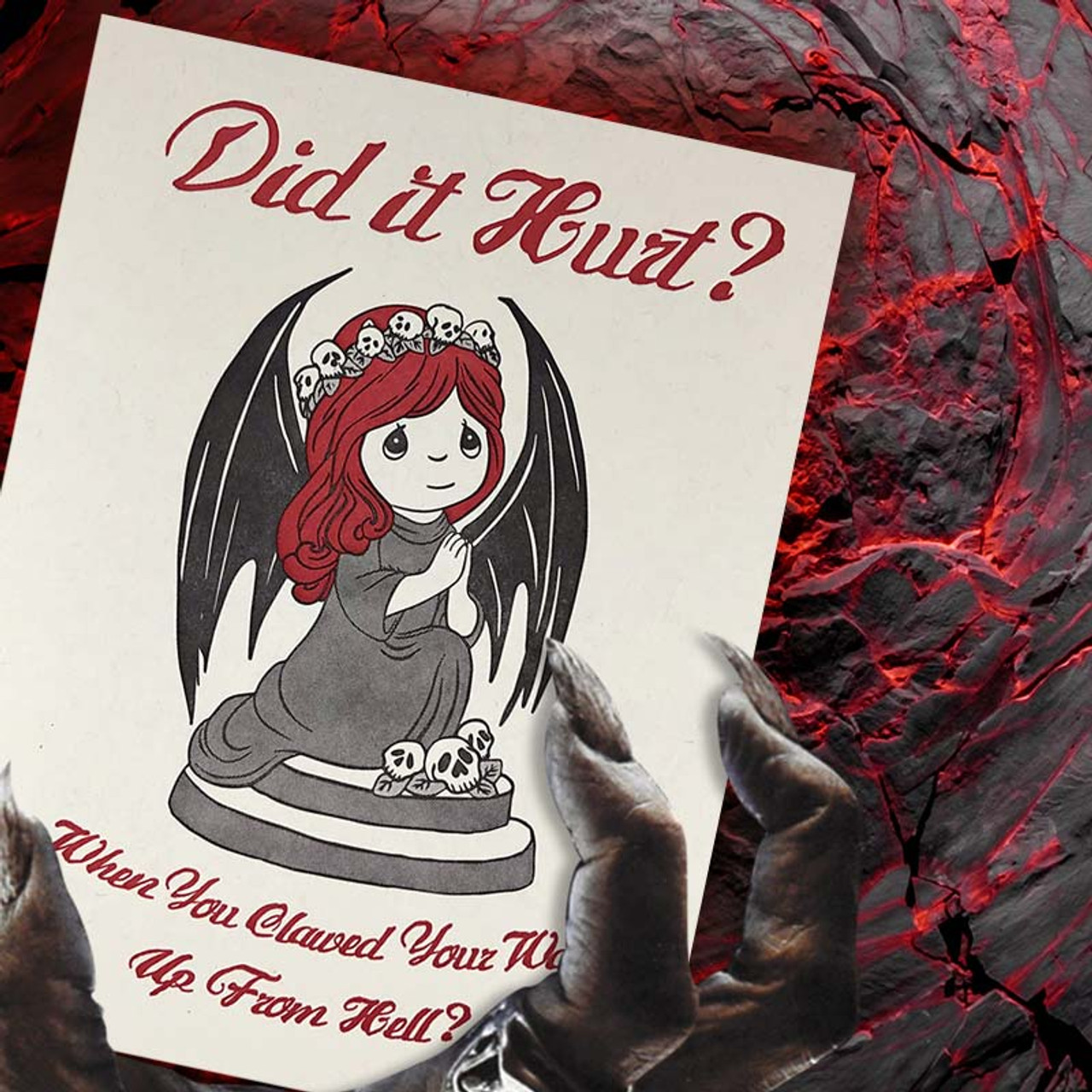 Girlfriend from Hell Greeting Card