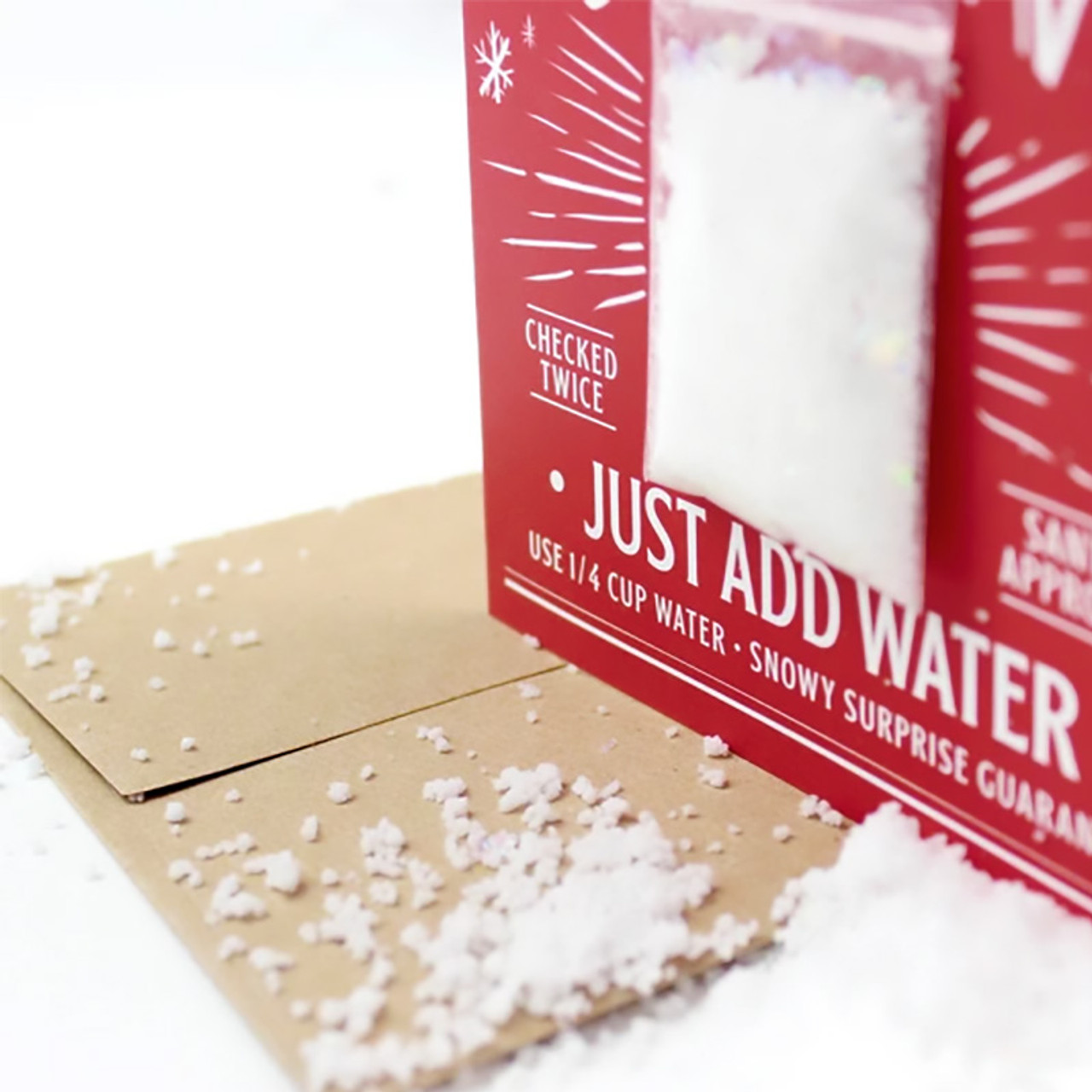Instant Snowball Christmas Card
