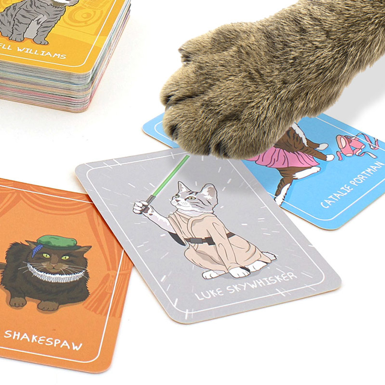 Cat Chaos Card Game by Ginger Fox