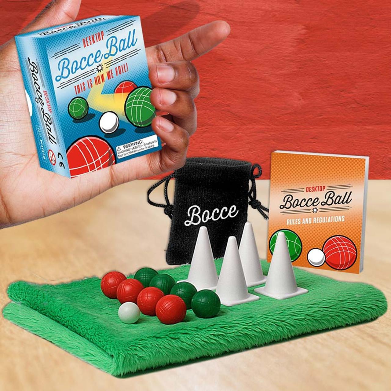 Mini Office Toy Desktop Bocce Ball
