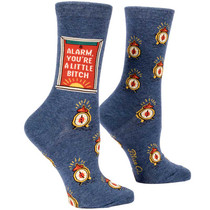 Bitch I AM Relaxed Crew Socks