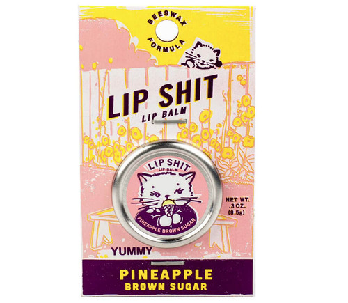 LIP SHIT LIP BALM - PINEAPPLE BROWN SUGAR