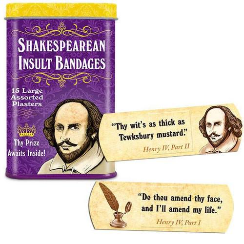 Shakespearean Insult Bandages