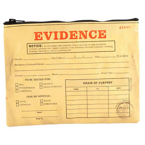 Blue Q Evidence Tote