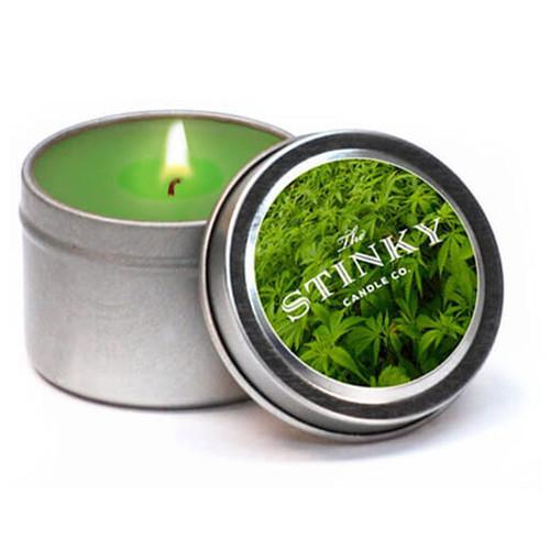 Marijuana Scented Candle