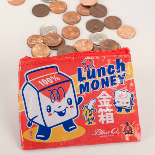 KAWAII LUNCH MONEY COIN PURSE