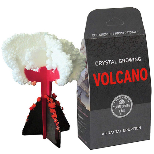 Crystal Growing Volcano