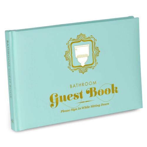 BATHROOM GUEST BOOK - KNOCK KNOCK