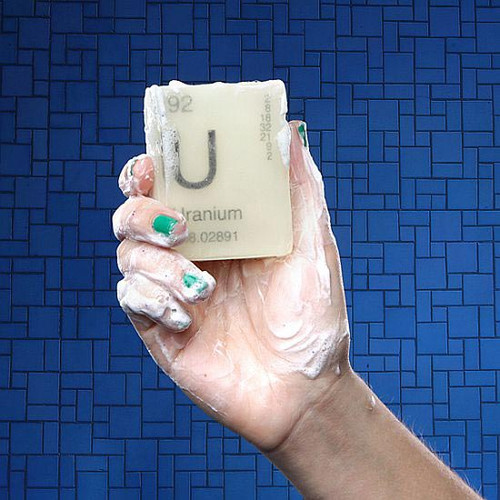 Hillary's Clinton's Uranium (One) Bar of Glow In The Dark Soap