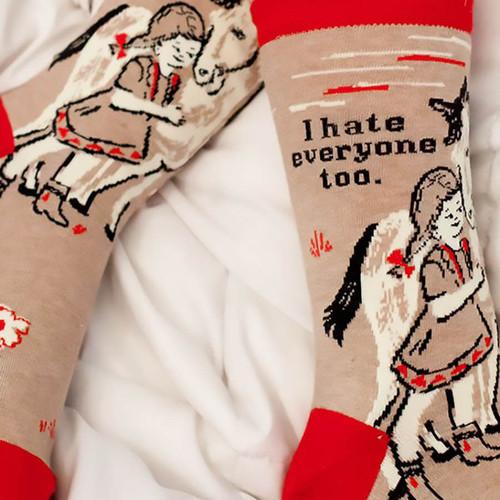 I Hate Everyone Too Socks