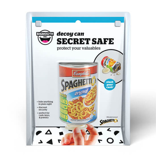 Spaghettios® Can Secret Decoy Safe