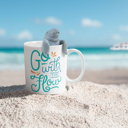 TWO FOR TEA MUG & MANATEA TEA INFUSER GIFT SET