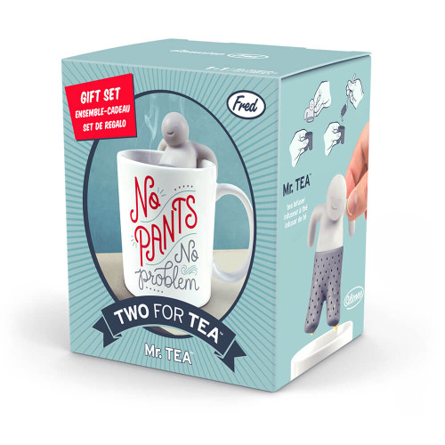 GIFT SET WITH MUG AND TEA INFUSER