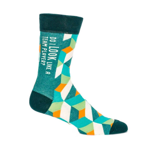 TEAM PLAYER MEN'S CREW SOCK