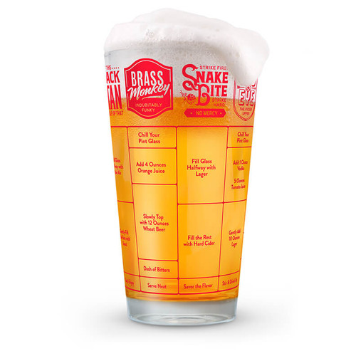 GOOD MEASURE BEER RECIPE GLASS