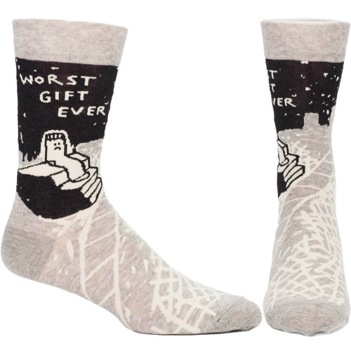 22d48058aeae1 Worst Gift Ever Men'S Socks in Unique Socks Gifts by Blue Q