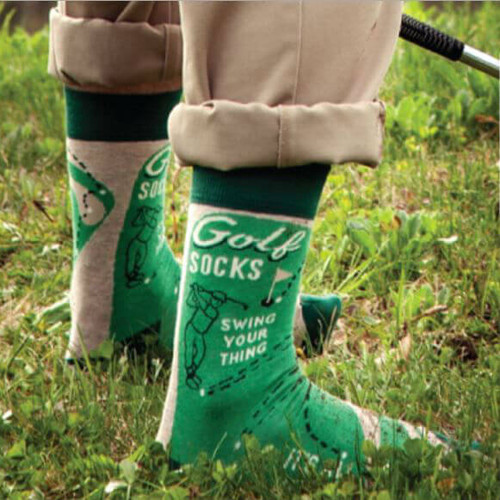 SWING YOUR THING MEN'S GOLF SOCKS