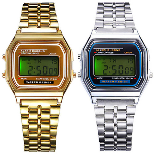 HEY NERD! RETRO LED DIGITAL WATCH
