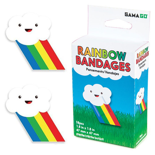 Gama-Go Rainbow Bandages
