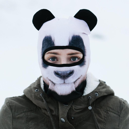 BEARDO GIANT SNOW LOVING PANDA WINTER SNOW MASK