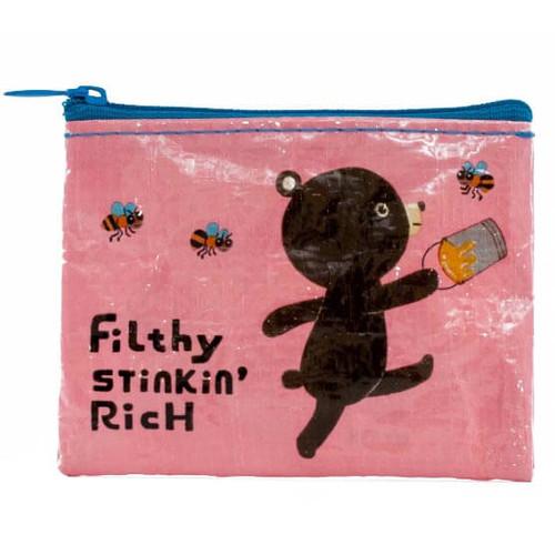 Filthy Stinkin' Rich Coin Purse