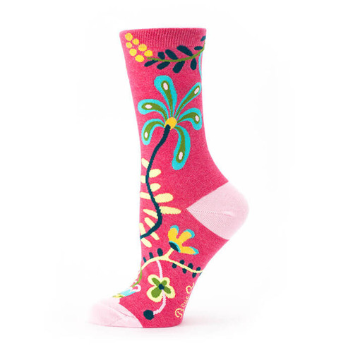 HI. I DON'T CARE. WOMEN'S CREW SOCKS