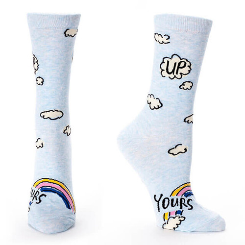 UP YOURS SOCKS