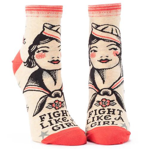 FIGHT LIKE A GIRL SOCKS