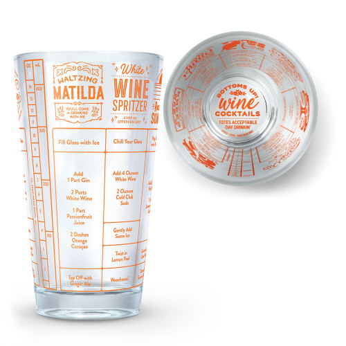 GOOD MEASURE WINE RECIPE GLASS