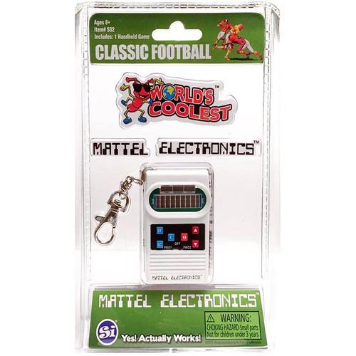 Retro Classic Mattel Football Keychain