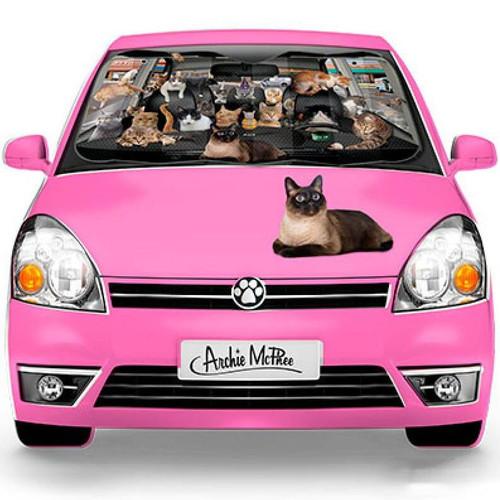 Cats Car Sunshade