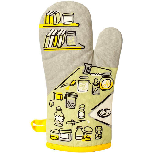 Droppin' A Recipe BlueQ Oven Mitt