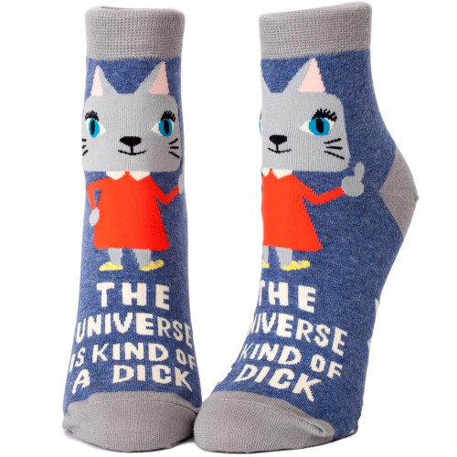 The Universe Is A Dick Women's BlueQ Ankle Socks