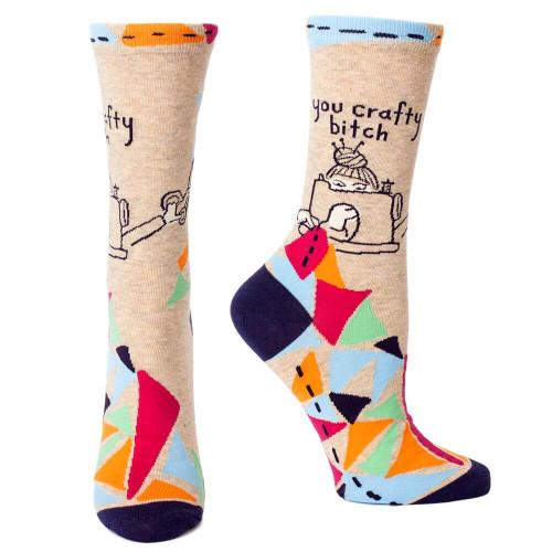 You Crafty Bitch Socks