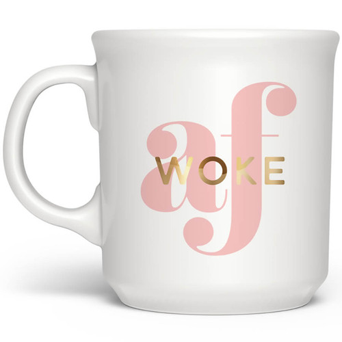 Woke AF Mug