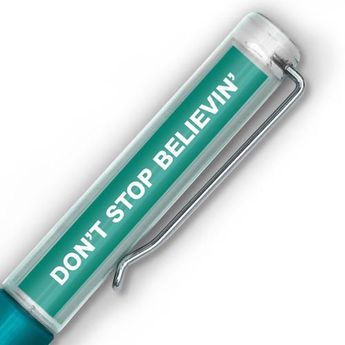 Don't Stop Believin' UFO Floaty Pen