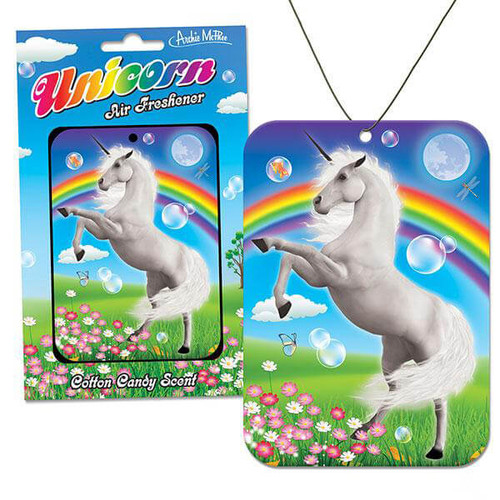Cotton Candy Scented Unicorn Air Freshener