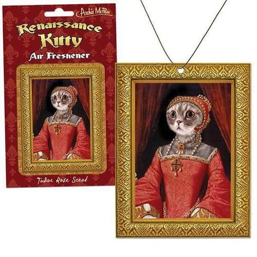 Renaissance Kitty Air Freshener