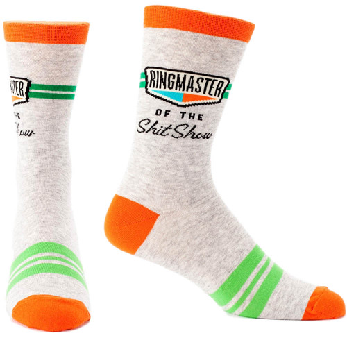 Ringmaster of the Shitshow Men's Socks