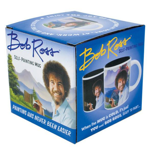 Bob Ross Self-Painting Heat Sensitive Mug