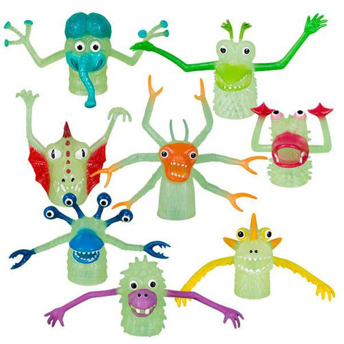 Glow-In-The-Dark Finger Monster! Set
