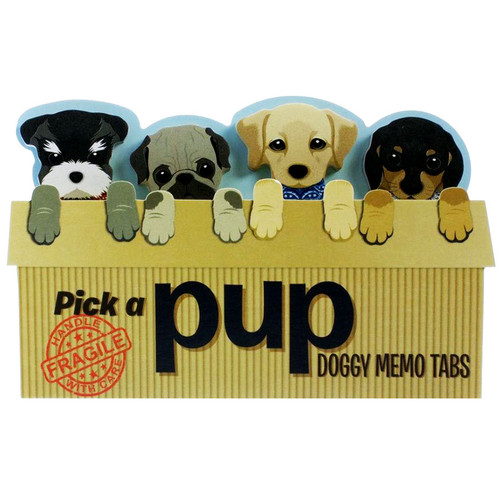 Pick a Pup Doggy Memo Tabs
