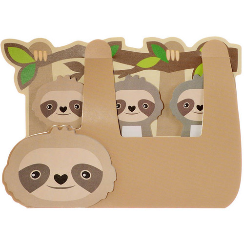 Sticky Sweet Sloth Memo Tabs Set