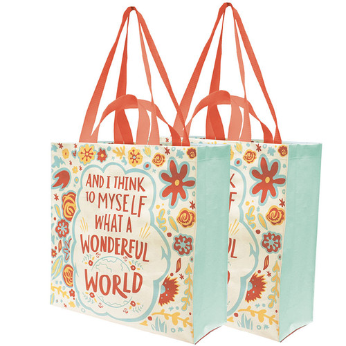 What a Wonderful World Daily Tote