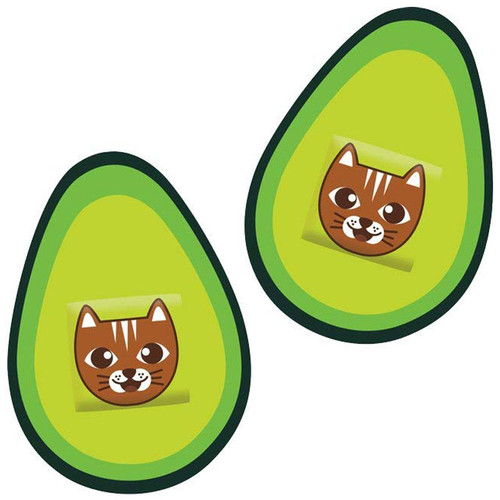 Avocado + Cat = Best Bandages Ever!