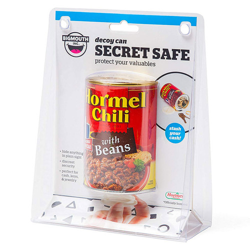 Hormel Chili Can Safe