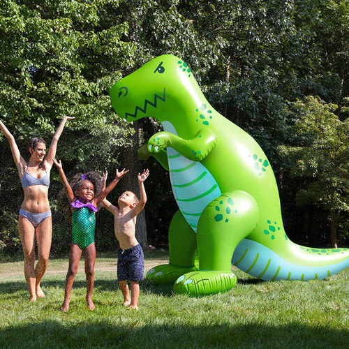 Ginormous T-Rex Dinosaur Yard Sprinkler - Buy Online