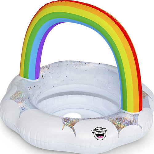 Big Mouth Toys Lil' Rainbow Kiddie Pool Float