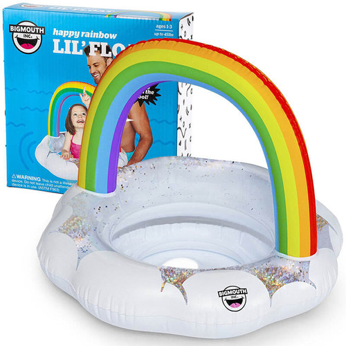Lil' Rainbow Kiddie Pool Float