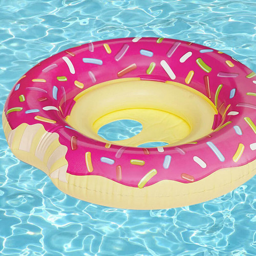 Big Mouth Lil' Donut Kiddie Pool Float